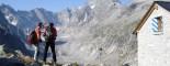 Trekking in Val Bregaglia: <br />Albigna, Passo del Casnile, Ghiacciaio del Forno