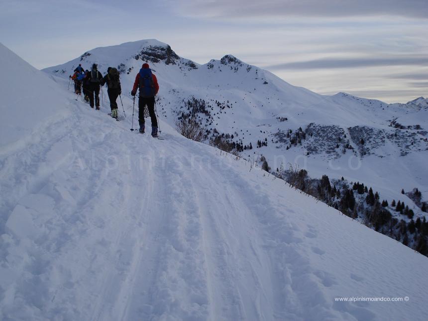 Verso il Monte Gardena