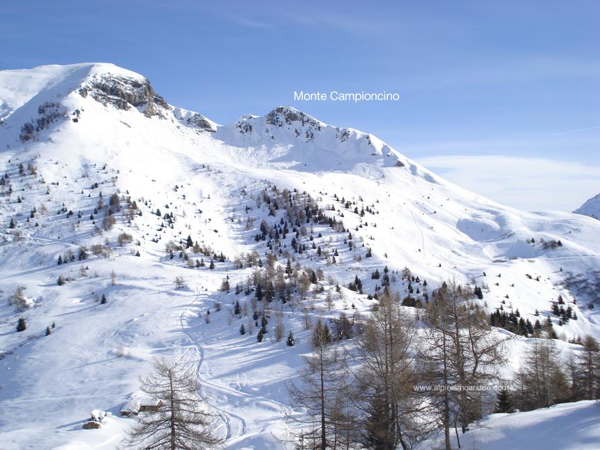 Vista del Campioncino dal Monte Gardena