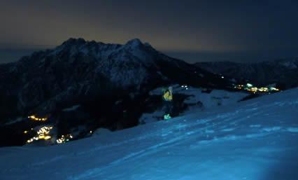 Cima di Grem - Scialpinismo in notturna