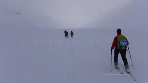Scialpinismo al Bivacco Cecchini - Val Loga