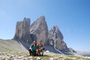 Alla forcella di Lavaredo - vista sulle nord delle Tre Cime