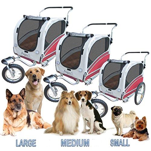 Polironeshop argo rimorchio e passeggino per trasporto for Trasportino per cani amazon